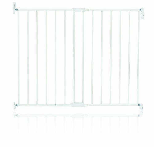 Munchkin Extending Metal Gate, White