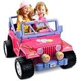 Power Wheels Barbie Jammin' Jeep
