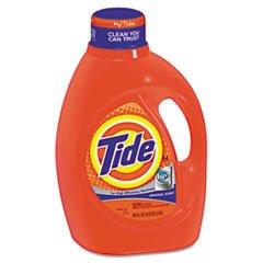 He Laundry Detergent, Original Scent, Liquid, 100Oz Bottle, 4/Carton front-337131