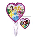 18 inch Disney Princess Pull String Pinata and Decoration Centerpiece