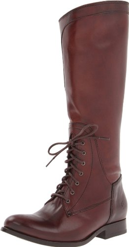 Women's Frye 'Melissa' Lace-Up Riding Boot Redwood Size 8.5