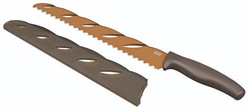 Kuhn Rikon 23505 Couteau à Pain Blister Acier Inoxydable Marron 40,4 x 5 x 2,2 cm