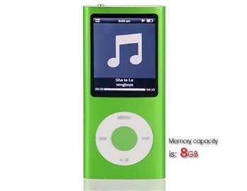 Statistics For 8Gb 2.2 Lcd Screen Mp4 Player Containing 0.3M Camera (Green)