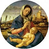 Bellini Madonna of the Meadow Big Pin