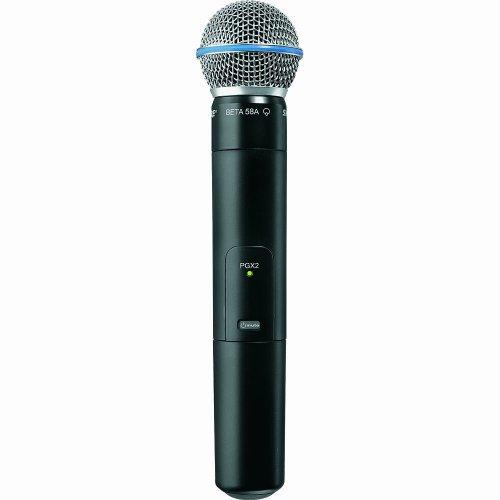 Shure Pgx2/Beta58 With Beta 58A Supercardiod Microphone, L5