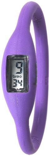 Breo Unisex Sport Roam Medium Rubber Watch – Purple (PU-BR10295)