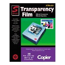 Simon Marketing Inc / Transparency Film, 4.0 Mil, 8-1/2