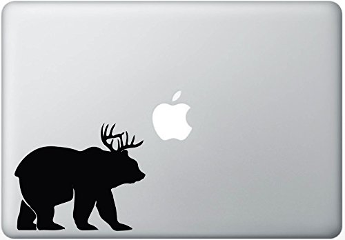 Bear Deer Beer Macbook Decal Vinyl Sticker Mac Book Pro Skins Apple Decals Stickers Laptop Decorative Computer Accesory Electronics Vinyl (Accesory For Pc compare prices)