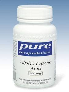 Pure Encapsulations - Alpha Lipoic Acid 600 Mg 60 Vcaps