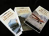 The Frontier Collection - Alaska - 4 VHS Video Cassette Collection - Includes The Alaska Highway 1942-1992 / Bush Pilots of Alaska / A History of the Alaska Railroad / Pipeline