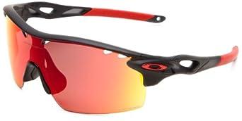 Oakley Radarlock XL Straight OO9196-02 Polarized Sport Sunglasses,Matte Black Ink,One size