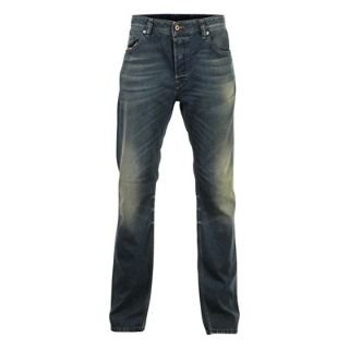 Diesel Larkee Relaxed 807U Mens Jeans Worn Denim 28 L30