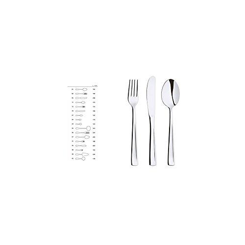 ABERT Set di 12 Coltelli inox tavola firenze Utensili e posate da cucina