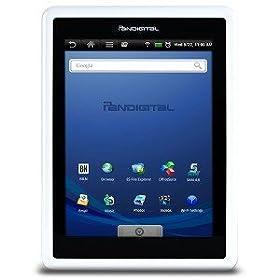 PanDigital Novel 1GB Wi-Fi, 7in Tablet - Black