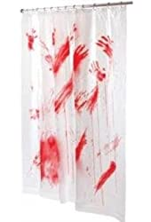 Morris Costumes Bloody Shower Curtain