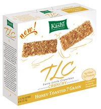 Kashi TLC Crunchy Granola Bars, 7 Grain, 6 ct ( Value Bulk Multi-pack)