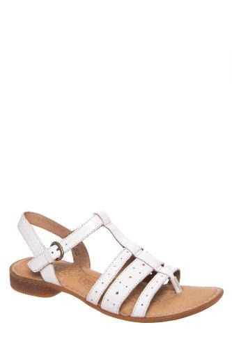 Born Marisol Flat Ankle Strap Sandal