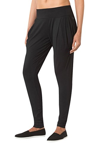 MPG Women's Julianne Hough Collection Elastomer Pleated Pant S Black