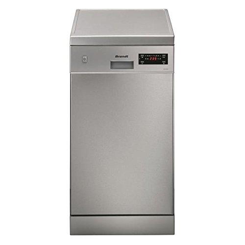 Brandt DFS1009X lave-vaisselle - lave-vaisselles (Autonome, A, A+, Argent, A, delicate, Intensif, normal, Rapide)