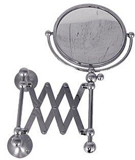 Watermark 321-0.9-SPVD Satin PVD Brass Extended Shaving Mirror