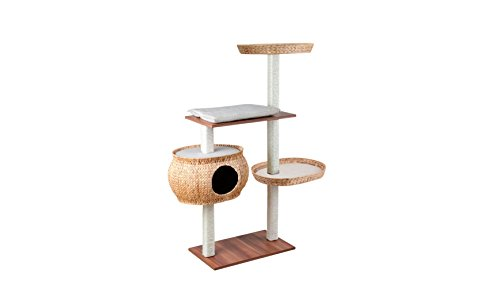 Produktabbildung von Silvio Design Katzenbaum, Kletterbaum, Kratzbaum Cosy natur, Maße: ca. 36 x 110 x 135 cm