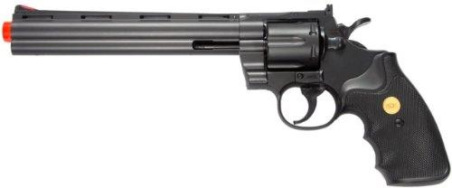 941 UHC 8 inch revolver, Black airsoft gun