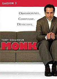 Monk, saison 3 - Coffret 4 DVD
