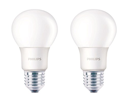 Philips 6W E27 550L LED Bulb (Warm White, Pack Of 2)