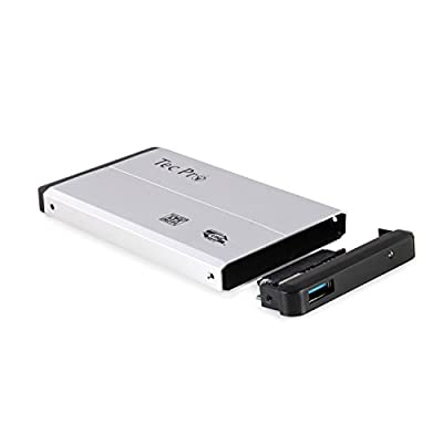 "TecPro 2.5"" USB 3.0 Serial ATA Hard Drive External Casing for laptops"