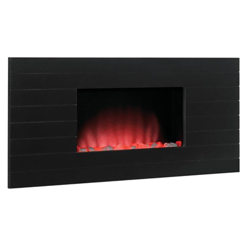 Classic Flame Serenity Wall Hanging Electric Fireplaces In Wood