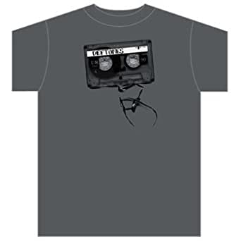 Deftones - Demotape Mens S/S T-Shirt In Graphite, X-Large, Graphite