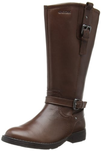 Geox Girls' J Sofia M Boots Brown Marron (Tan) 27