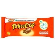 Nestle Toffee Crisp Biscuits 7 Pack 300G