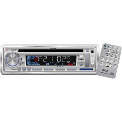 Pyle Plcd3mr 160w Marine Cd Mp3 Receiver With Usb Sd And Aux Input & Remote (Hummer H3 Aux Cable compare prices)