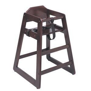 Update Wd-Hcm High Chair Infant Heavy Duty Mahogany Finish (Kd)