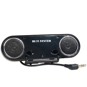 3D Surround Speaker Hi-Fi System for PSP (Black)