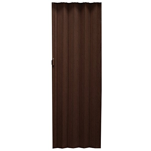 Porta a soffietto in legno di quercia ruegen scuro 86 x - Porte a parete ...