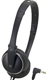 audio-technica ポータブルヘッドホン ブラック ATH-ES33 BK