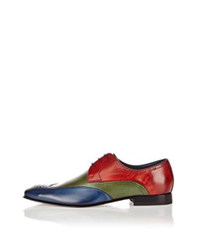 Daniel Hechter Zapatos Derby Hb10031W Azul / Verde / Rojo