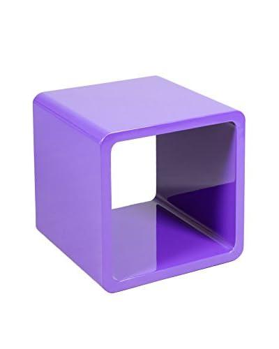 Eigentijdse stijl plank Kubus paarse