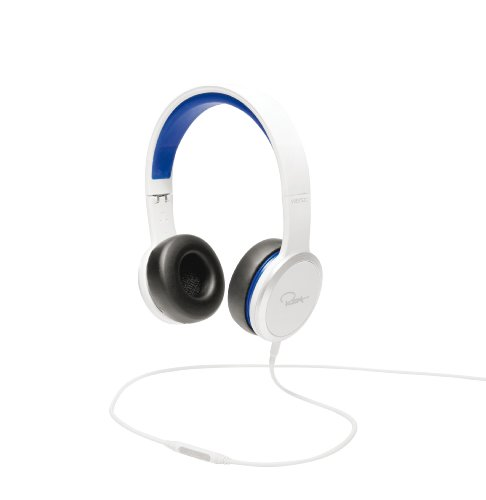 Rza Street White/Blue Headphon