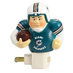 "5"" Miami Dolphins NFL Running Back Player Night Light"