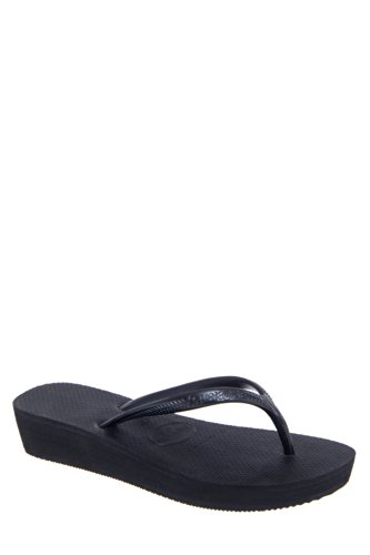 Havaianas High Light Low Wedge Flip Flop