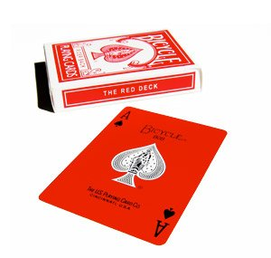 Top Deck Cards: Magic Makers Original Bicycle Red Deck Features and price