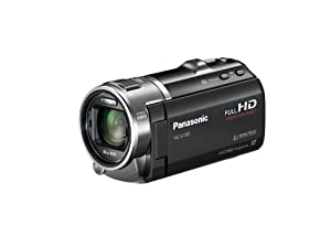 Panasonic HCV700K 3D Full HD 28mm Wide Angle SD Camcorder (Black)