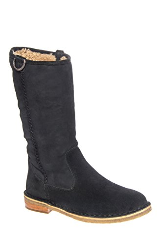 Daphne Low Heel Mid Calf Boot