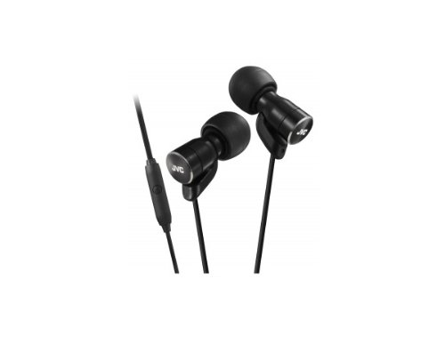 Jvc Victor In-Ear Stereo Headphones For Smartphones | Ha-Frd60-B Black (Japanese Import)