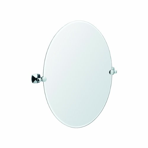 Gatco 4149 Jewel Oval Mirror (Chrome)