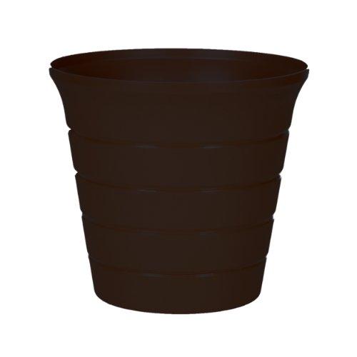 Misco 855/12-007 Horizon Planter, 8-Inch, Black