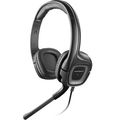 Plantronics 79730-21 Audio 355 Stereo Headset W/Mic 3.5Mm Noise Cancelling